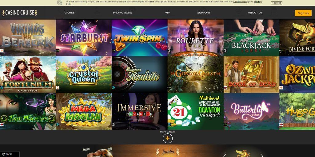 Casino Cruise casino lobby