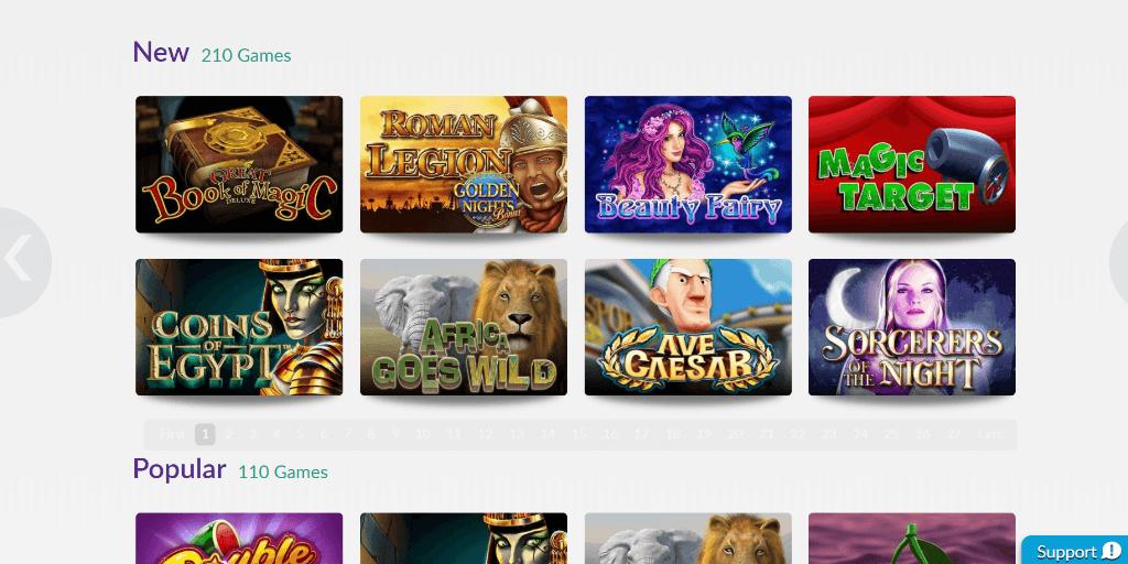 Omni Slots casino lobby
